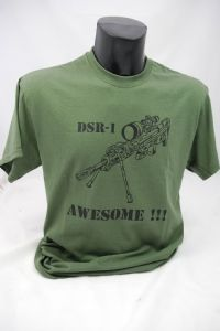 DSR-1 Awesome t-shirt olive green